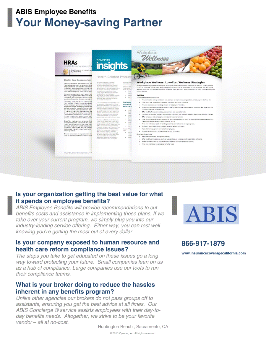 ABIS Employee Benefits - Your Money Saving Partner 900px